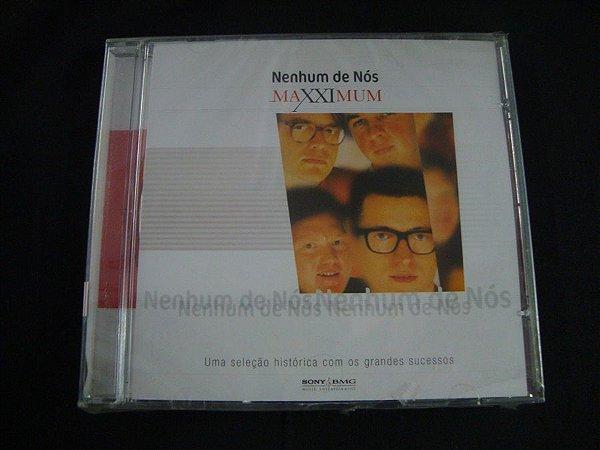 CD Nenhum de nós - Coletânea Maxximum