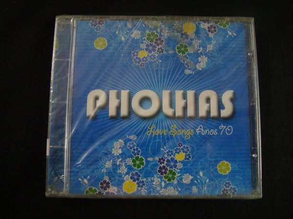 CD Pholhas - Love songs Anos 70