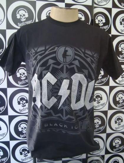 Camiseta AC DC Black Ice