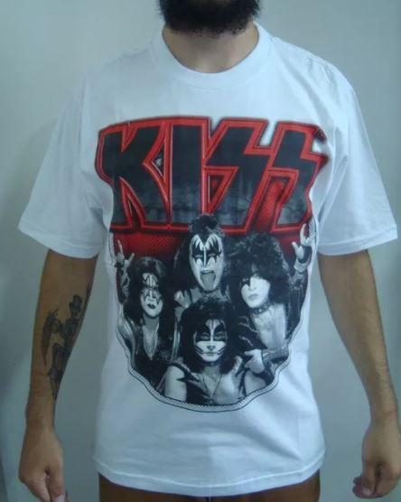 Camiseta Kiss - Rock 'n' Roll All Night