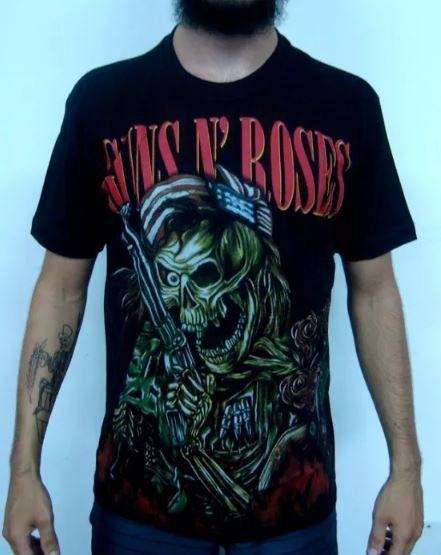Camiseta Guns And Roses - Family Tree