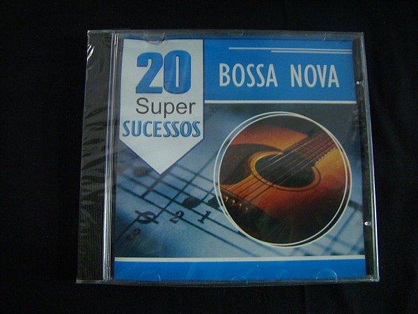 CD Bossa Nova - 20 Super Sucessos