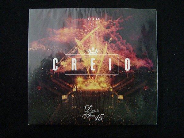 CD Diante do Trono - Creio