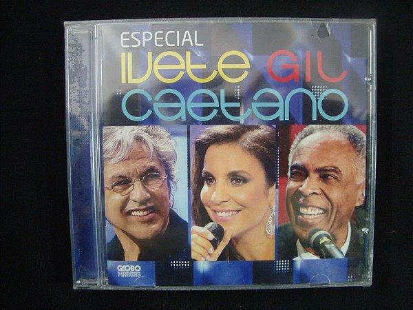 CD Especial Ivete, Gil e Caetano