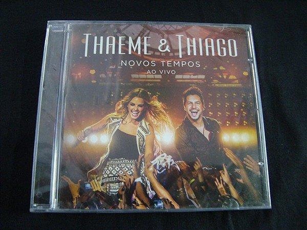 CD Thaeme & Thiago - Novos Tempos - Ao vivo