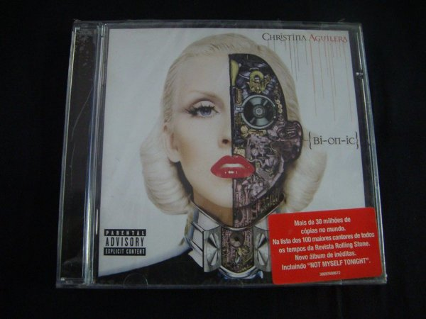 CD Christina Aguilera - Bi-on-ic