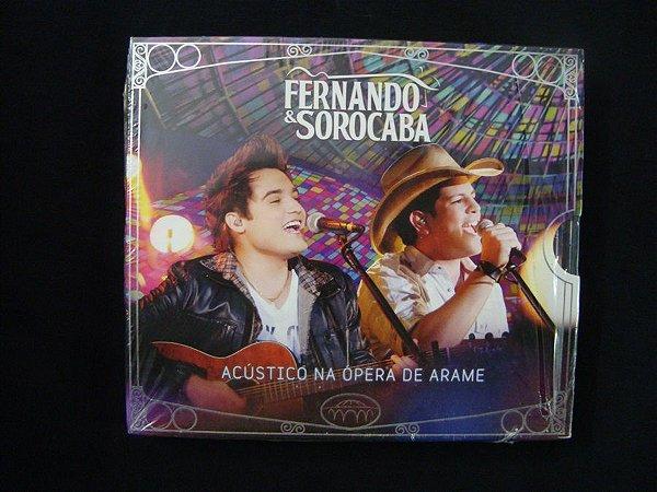CD Fernando & Sorocaba - Acústico na ópera de Arame