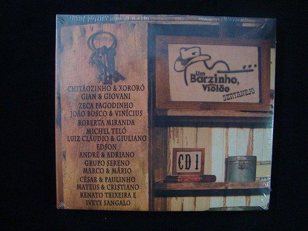 CD Um Barzinho, um Violão - Sertanejo