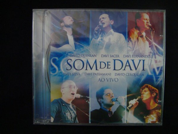 CD Som de Davi - Ao vivo
