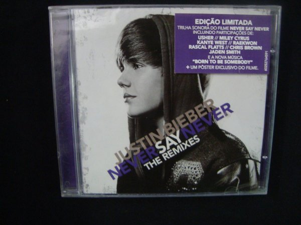 CD Justin Bieber - Never Say never - The Remixes