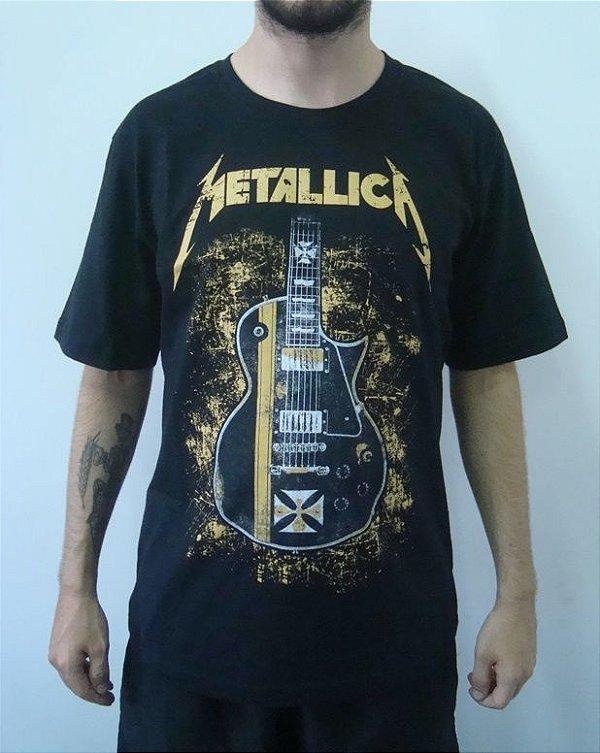 Camiseta Promocional - Metallica