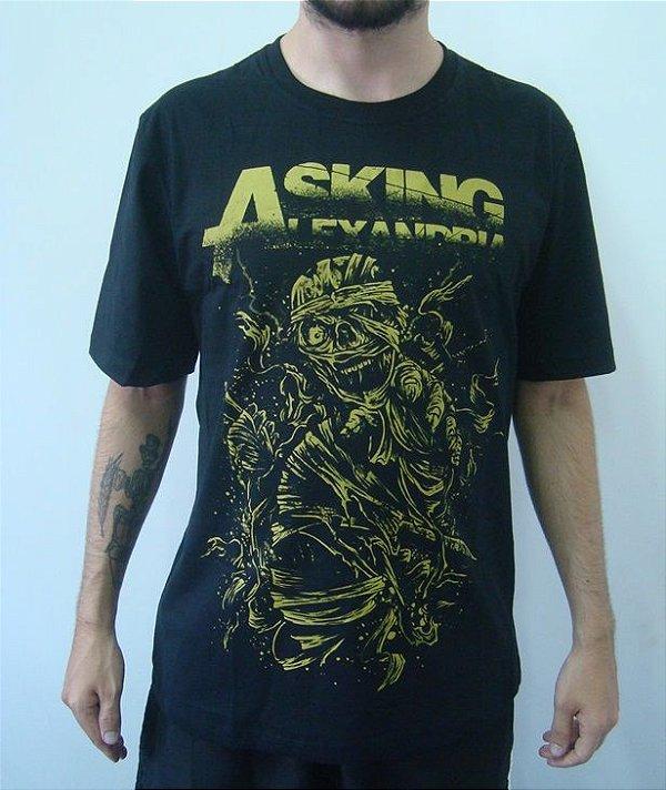 Camiseta Promocional Asking Alexandria