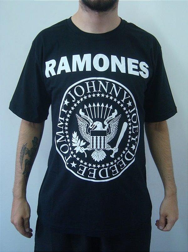 Camiseta Promocional - Ramones