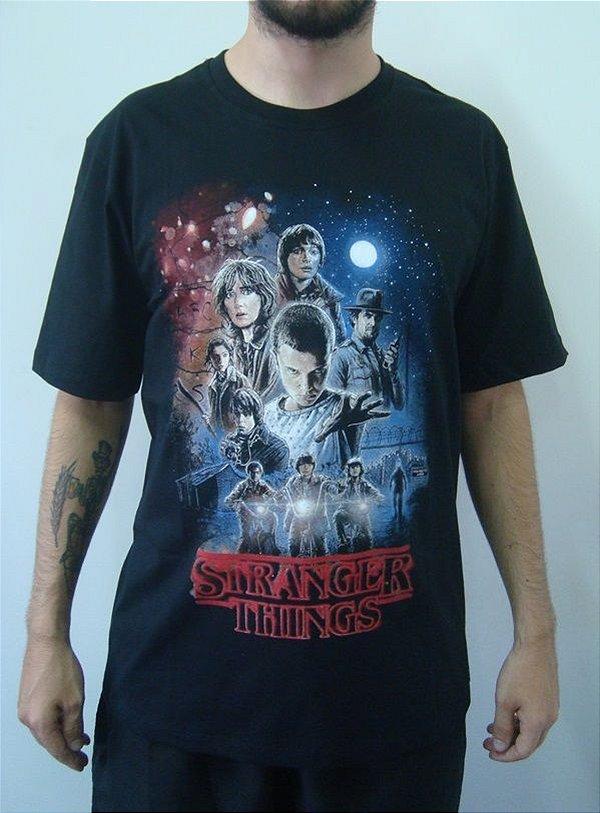 Camiseta Promocional - Stranger Things
