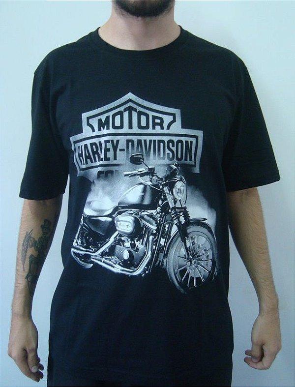 Camiseta Promocional - Iron 883 - Harley Davidson