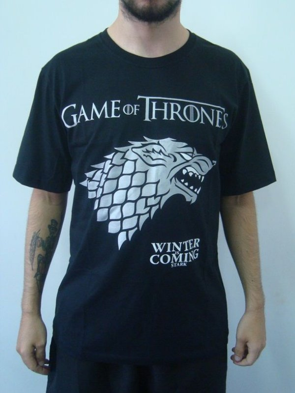 Camiseta Game Of Thrones - Starks