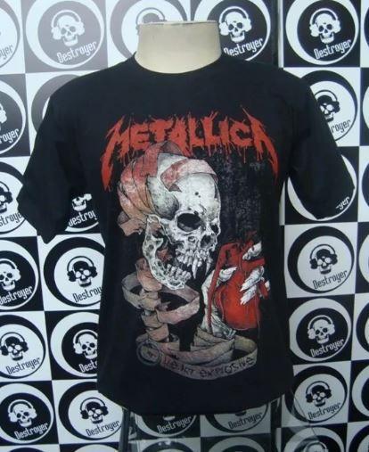 Camiseta Metallica - Explosive Heart