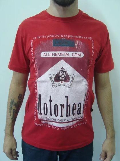 Camiseta Motorhead - Malboro