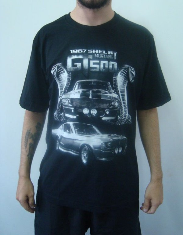 Camiseta Promocional - Shelby Mustang GT500