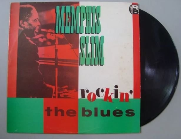 Disco de Vinil - Memphis Slim - Rockin' The Blues
