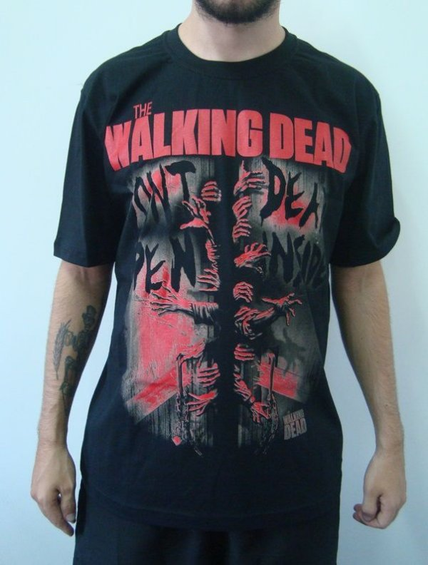 Camiseta Promocional - The Walking Dead - Don't Open