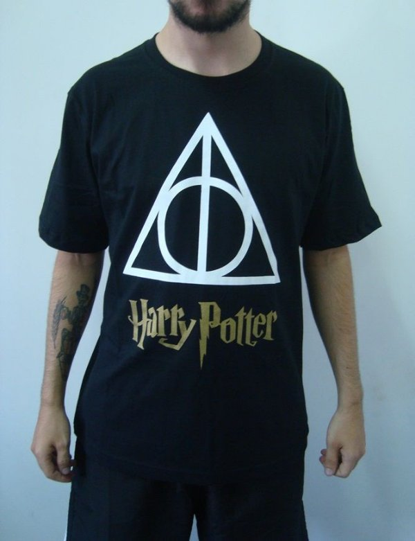 Camiseta Promocional - Harry Potter - Relíquias da Morte