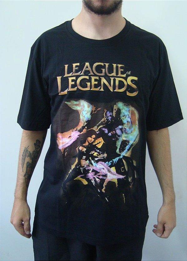Camiseta Promocional - League of Legends