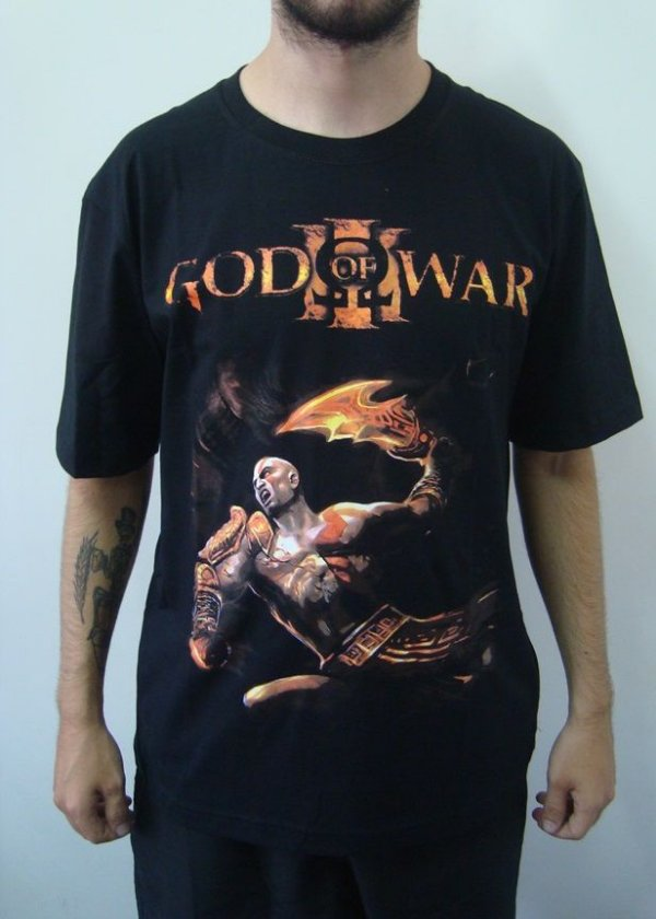 Camiseta Promocional - God of War
