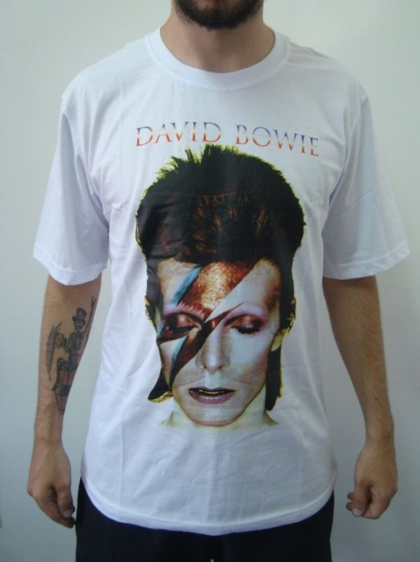 Camiseta Promocional - David Bowie