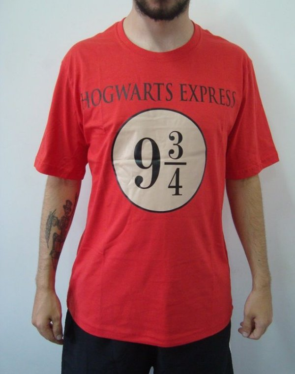 Camiseta Promocional - Harry Potter - hogwarts Express 9 3/4