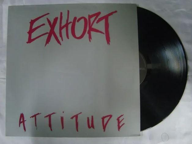 Disco De Vinil (lp) Exhort - Attitude