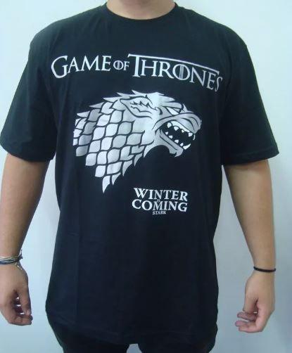 Camiseta Game of Thrones - Starks