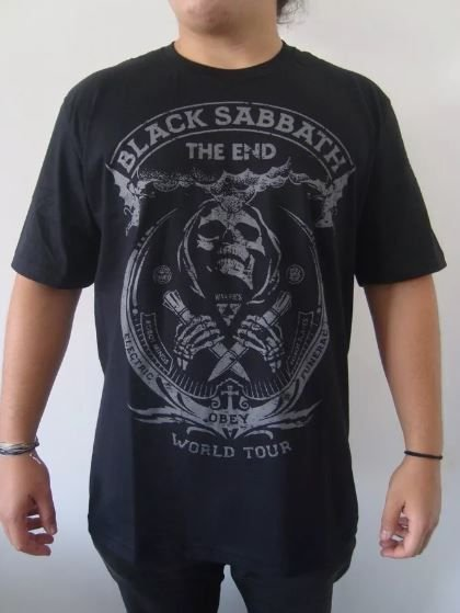 Camiseta Black Sabbath - Obey