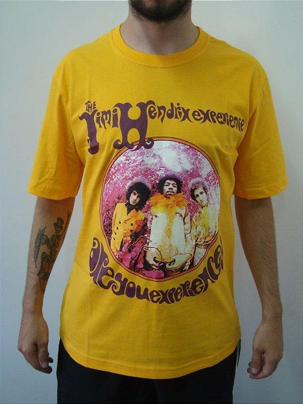 Camiseta Promocional - Jimi Hendrix - Experience