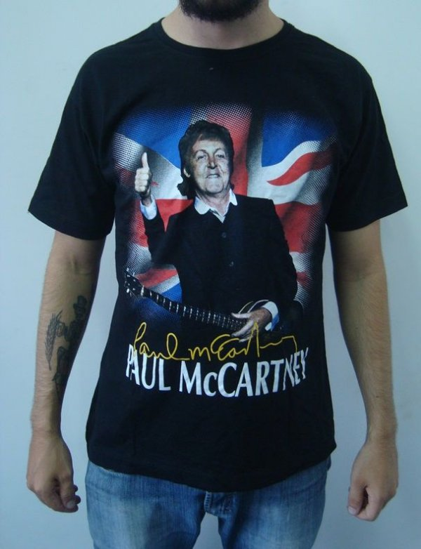 Camiseta Paul McCartney - Out There