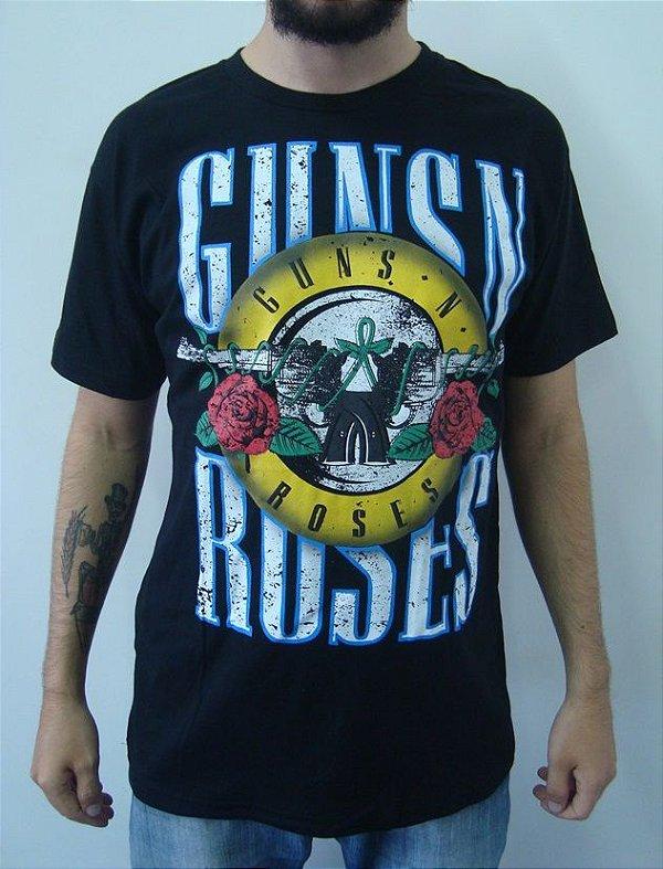 Camiseta Guns And Roses