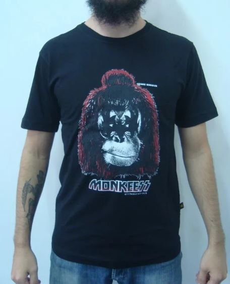 Camiseta Kiss - Monkeess