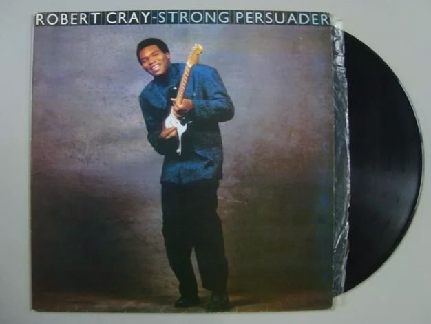 Disco De Vinil - Robert Cray - Strong Persuader