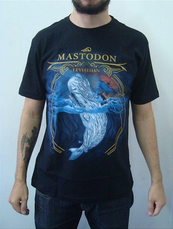 Camiseta Mastodon - Leviathan