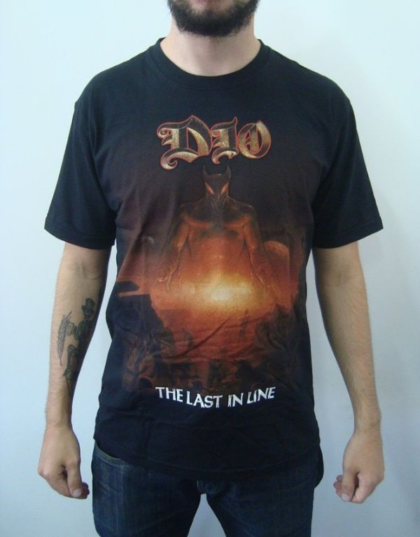 Camiseta Dio - The Last In Line