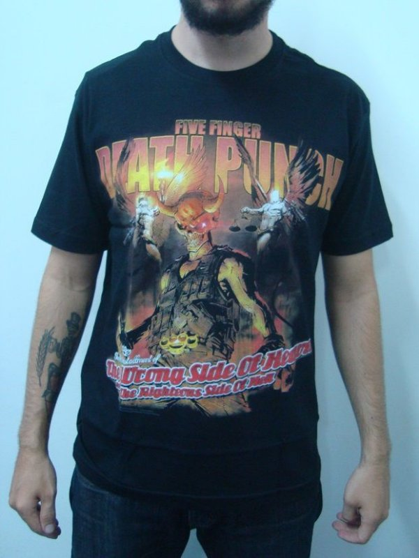 Camiseta Five Finger Deadh Punch - Wrong side of heaven