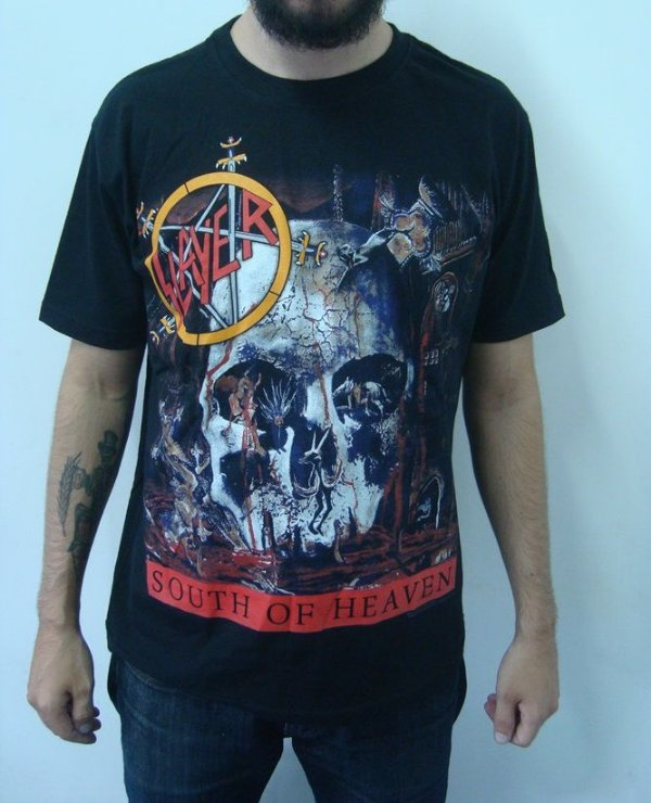 Camiseta Slayer - South of Heaven