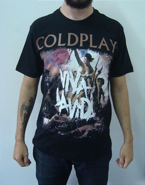 Camiseta Coldplay - Viva La Vida