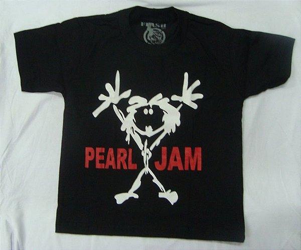 Camiseta Infantil Pearl Jam