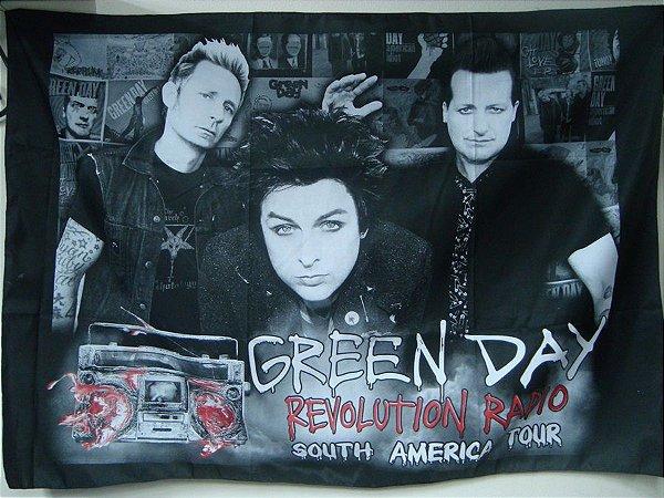 Bandeira Green Day - Revolution Radio Tour