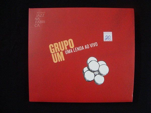 CD Grupo Um - Uma Lenda Ao Vivo