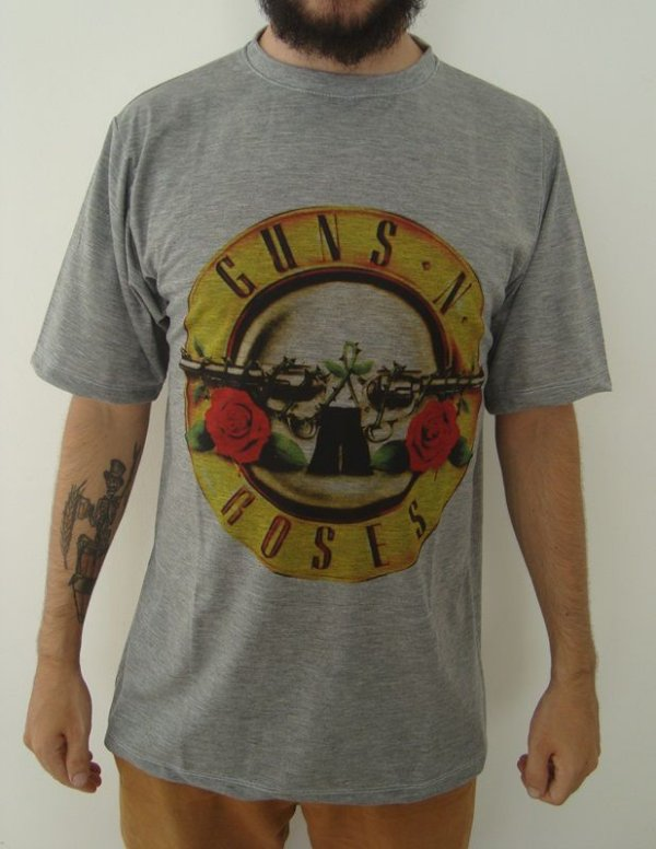 Camiseta Guns And Roses Sublimada