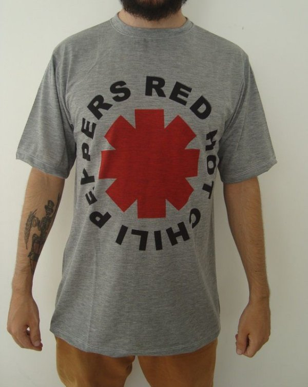 Camiseta Sublimada Red Hot Chili Peppers