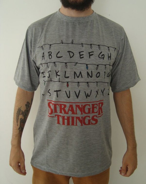 Camiseta Sublimada - Stranger Things