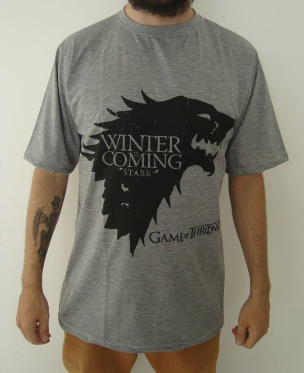 Camiseta Sublimada - Game of Thrones - House Stark